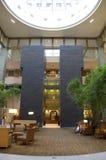 Lobby d'hôtel de Grand Hyatt Bellevue Photos stock