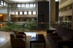 Lobby d'hôtel de Hyatt grand Bellevue Images stock