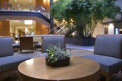 Lobby d'hôtel de Hyatt grand Bellevue Photo libre de droits