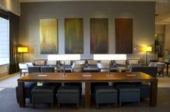 Lobby d'hôtel de luxe Image stock