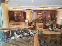 Lobby d'hôtel, hôtel USJ de sommet Photos libres de droits