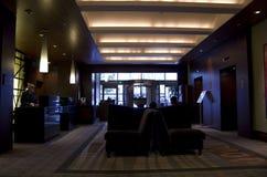 Lobby d'hôtel Seattle 1000 Image libre de droits