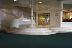 Lobby de marbre d'hôtel en Italie photos stock