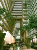Lobby de Marina Bay Sands Hotel Photo stock