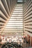 Lobby de Marina Bay Sands Resort Hotel Images libres de droits