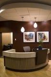 Lobby des Hotels 1000 Stockfotografie