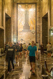 Lobby of the Empire State Building in New York Stock Photography