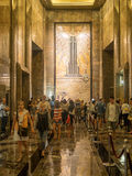Lobby of the Empire State Building in New York Royalty Free Stock Photos
