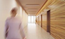 Lobby för affärsman i regeringsställning Royaltyfri Foto