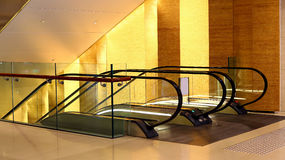 Lobby för affärsmitt Arkivbild