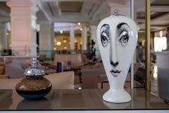 Lobby för hotell` s, Antalya, Turkiet royaltyfri foto