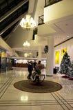 Lobby för lyxigt hotell Arkivbilder