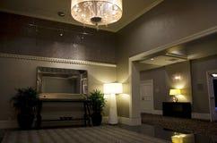 Lobby för lyxigt hotell fotografering för bildbyråer