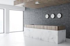 Lobby för marmormottagande i regeringsställning, klockor vektor illustrationer