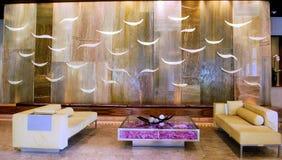 Lobby för semesterorthotell Royaltyfria Bilder
