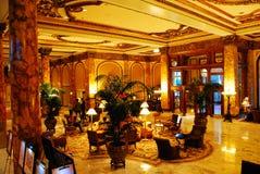 Lobby Fairmont hotel, San Fransisco obrazy royalty free