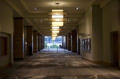 Lobby för lyxigt hotell Arkivfoton