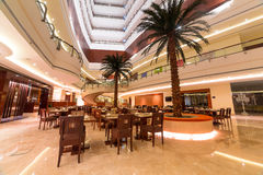 Lobby and hall of Khalidiya Palace in Abu Dhabi, UAE Royalty Free Stock Photos