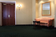 Lobby of hotel Royalty Free Stock Photo