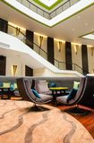 Lobby in a hotel Stock Photography