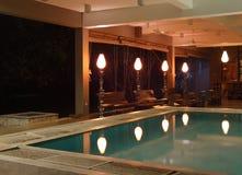 lobby hotelu Obrazy Royalty Free