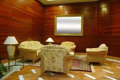 lobby hotelu Zdjęcia Royalty Free