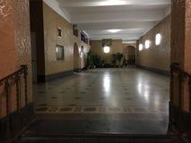 Lobby im Gebäude auf Brighton Beach Lizenzfreie Stockfotos
