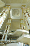 Lobby impérial d'hôtel, Brunei image stock