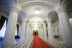 Lobby interior. A empty lobby interior of a palace Stock Images