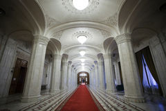 Lobby interior. A empty lobby interior of a palace Royalty Free Stock Images