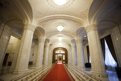 Lobby interior. A empty lobby interior of a palace Royalty Free Stock Image