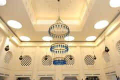 Lobby interior in the luxury hotel stock photo