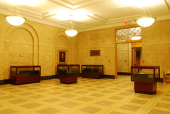 Lobby of library Stock Photography
