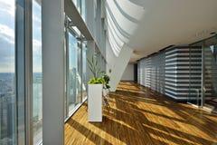 Lobby. A modern high rise lobby Stock Image