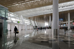 Lobby of new t4 terminal, amoy city, china Royalty Free Stock Photography