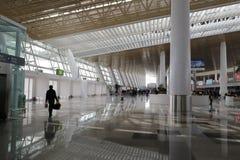 Lobby of new t4 terminal, amoy city, china Royalty Free Stock Photography