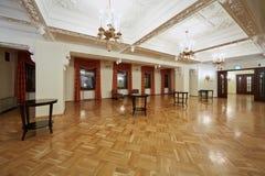 Lobby på nivå 5 av hotellet Hilton Leningradskaya Arkivbilder