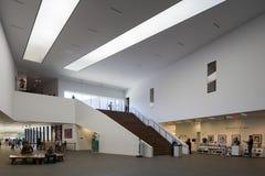 Lobby principal chez de Young Museum Images stock