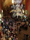 Lobby of Radio City Music Hall stock photo