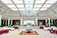 The lobby of Rixos Sharm El Sheikh luxury hotel Royalty Free Stock Photography