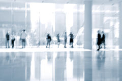 Lobby in the rush hour Royalty Free Stock Image