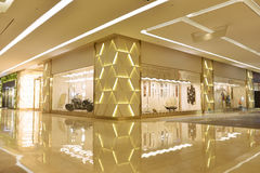 Lobby and  shop in commercial building Stock Photos