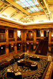 Lobby, Thomas Jefferson Hotel Stock Photo