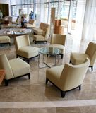 Lobby of the Trump Ocean Club Hotel Panama City Stock Images