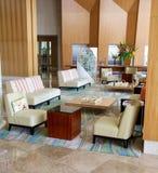 Lobby of the Trump Ocean Club Hotel Panama City Royalty Free Stock Images