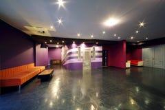Lobby von Neva-Kino Stockfotos