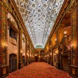 Lobbyen för Louisville slottteater Royaltyfria Bilder