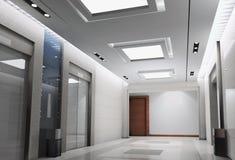 lobbyframförande för hiss 3d Arkivfoton