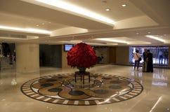 Lobbyinre för lyxigt hotell Arkivbild