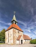 Loberod castle church Royalty Free Stock Images